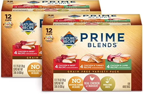 Nature s Recipe Prime Blends Wet Dog Food