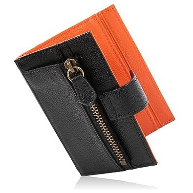 f78ab0c5e600 Amazon | [LUCIAS] ミニ財布 二つ折り 本革 薄い 軽い コインケース ...
