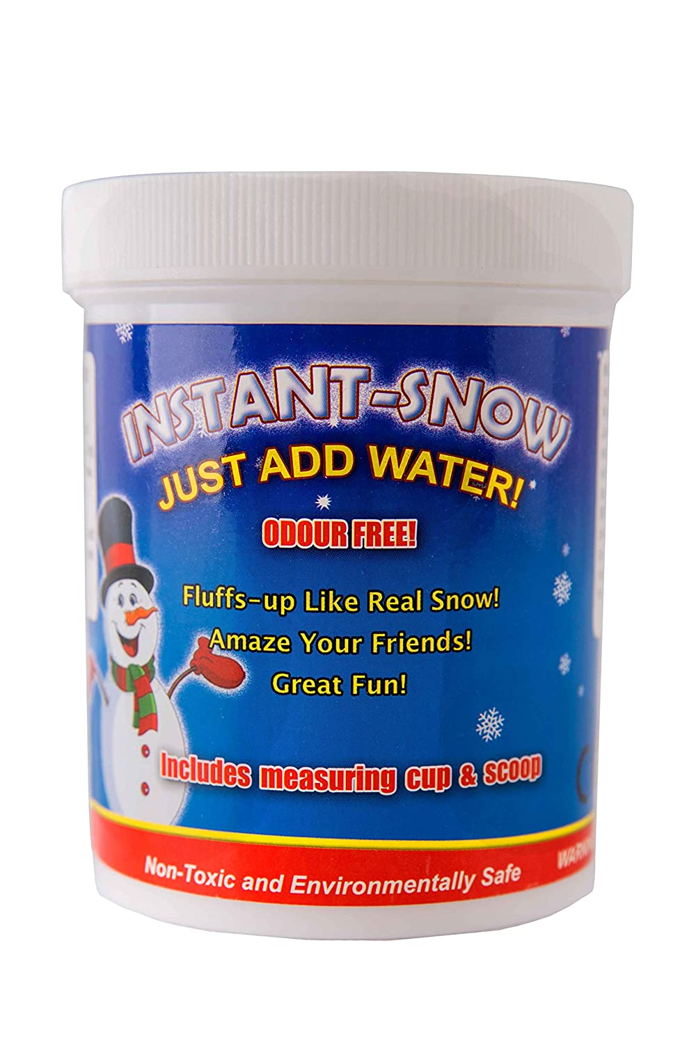 125g Instant Snow Powder - Instant Magic Snow Fake Party Decoration by Playlearn by Playlearn S125