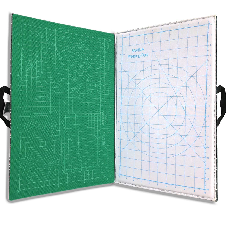 Savina Portable Foldaway Cutting and Pressing Mat by SAVINA