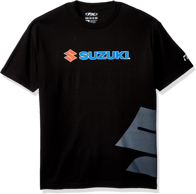Charcoal, X-Large Factory Effex 16-88424 Suzuki S Bar T-Shirt