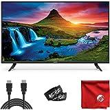 VIZIO D-Series 32-Inch Class 720p LED HDTV Smart TV (D32H-G9) with Built-in HDMI, USB, SmartCast, Voice Control Bundle with C