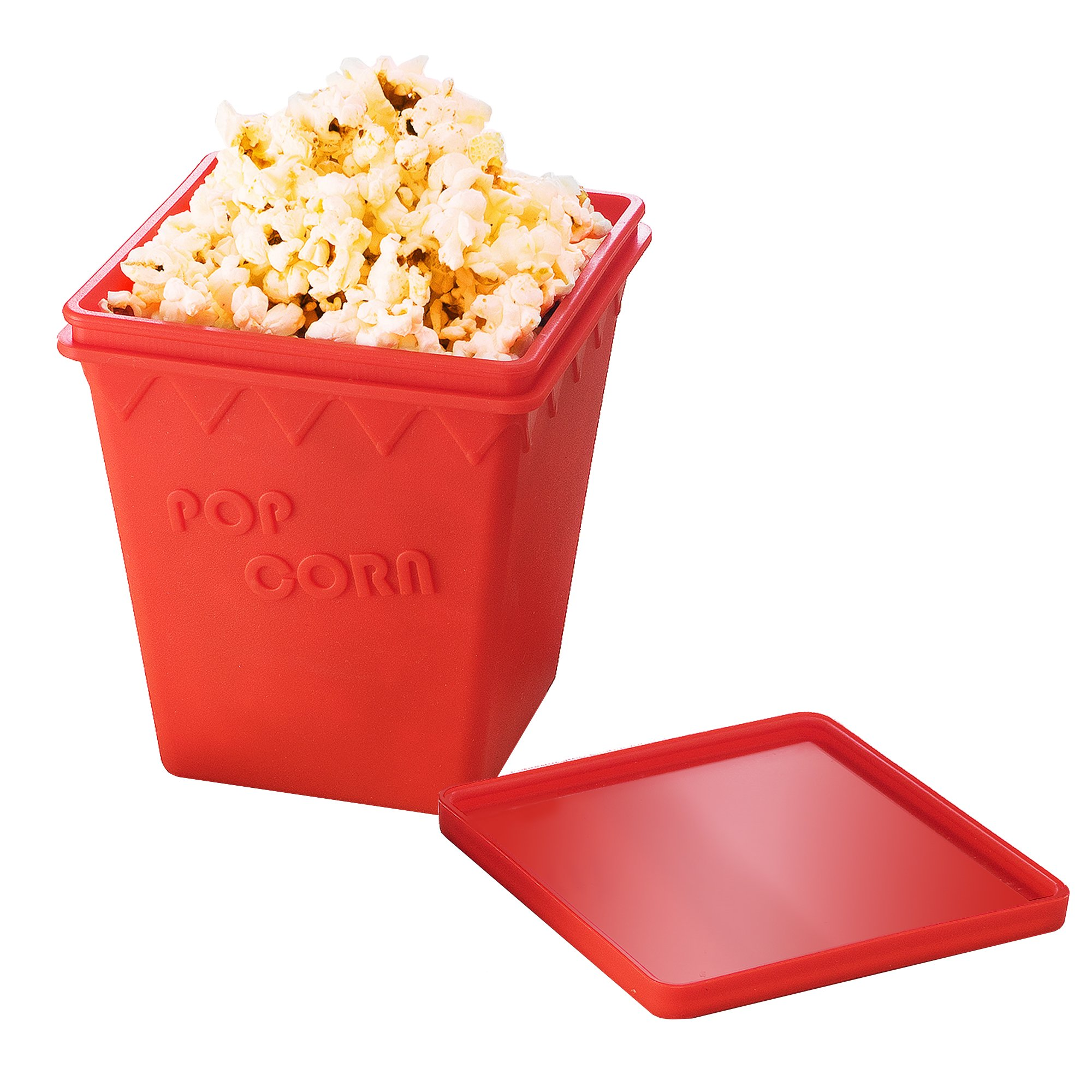 Great Northern Popcorn Silicone BPA Free Microwave Popcorn Popper Makes Healthier Popcorn