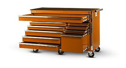 International VRB-5610OR 56-Inch 10 Drawer Orange Tool Cabinet with Heavy Duty Ball  sc 1 st  Amazon.com & Amazon.com: International VRB-5610OR 56-Inch 10 Drawer Orange Tool ...