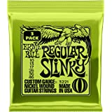 Ernie Ball Regular Slinky Nickel Wound Sets, .010 - .046 (3 Pack)
