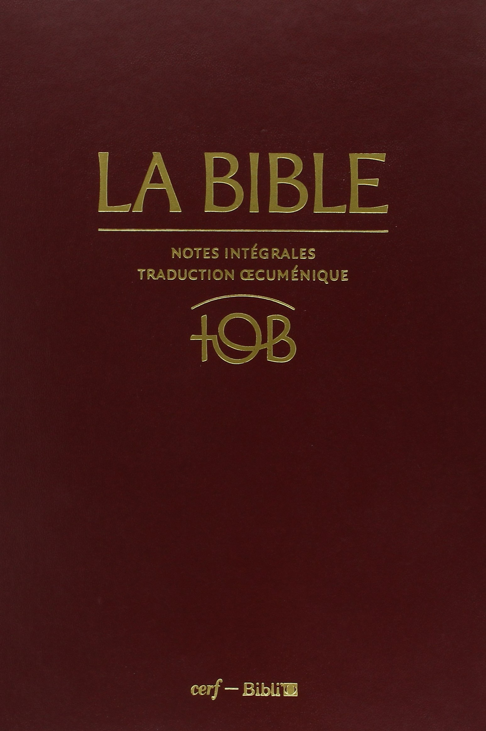 la bible tob en audio