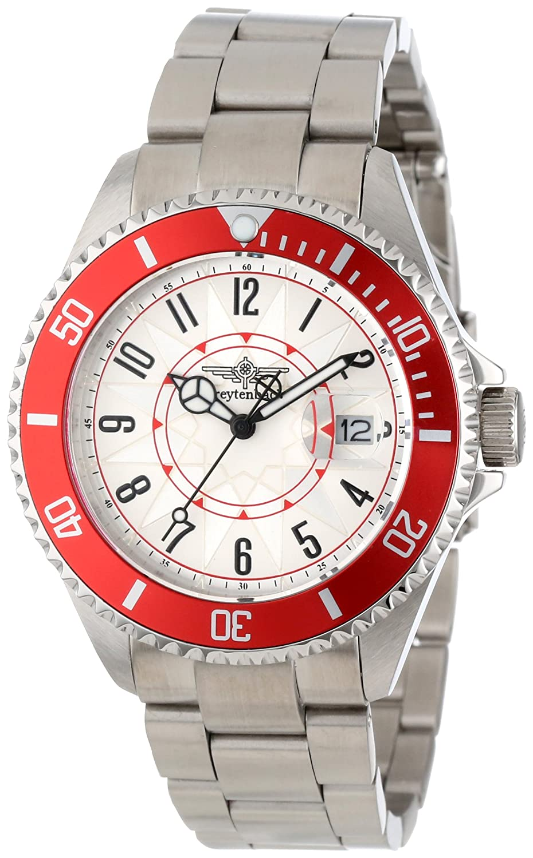 Breytenbach Unisex-Armbanduhr Metall Analog Quarz Edelstahl BB2810R