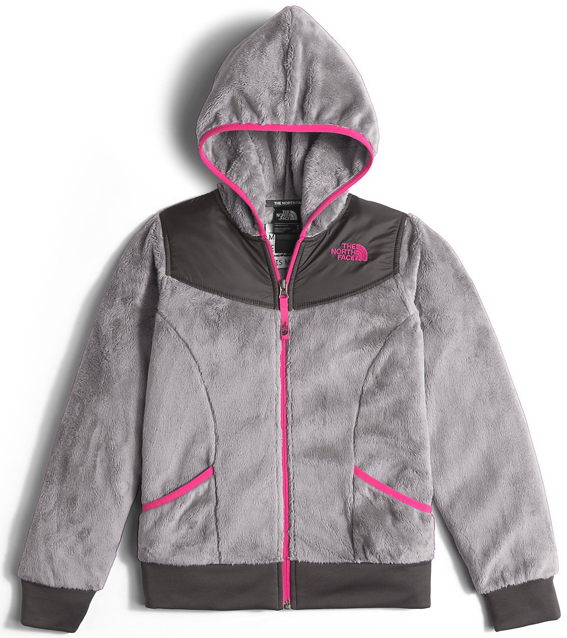 The North Face Girls Girls' Oso Hoodie, Xl (18), Grey