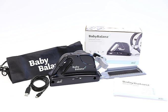 DEKI BabyBalanz mecedora automática, 0 - 18 meses, 0 - 13 kg