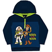 Disney Toy Story Boy's Heroes to The Rescue Woody and Buzz Lightyear Pullover Hoodie