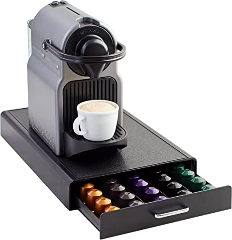 AmazonBasics - Cajón para almacenar cápsulas de Nespresso (capacidad para 50 cápsulas): Amazon.es: Hogar