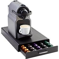 AmazonBasics - Cajón para almacenar cápsulas de Nespresso