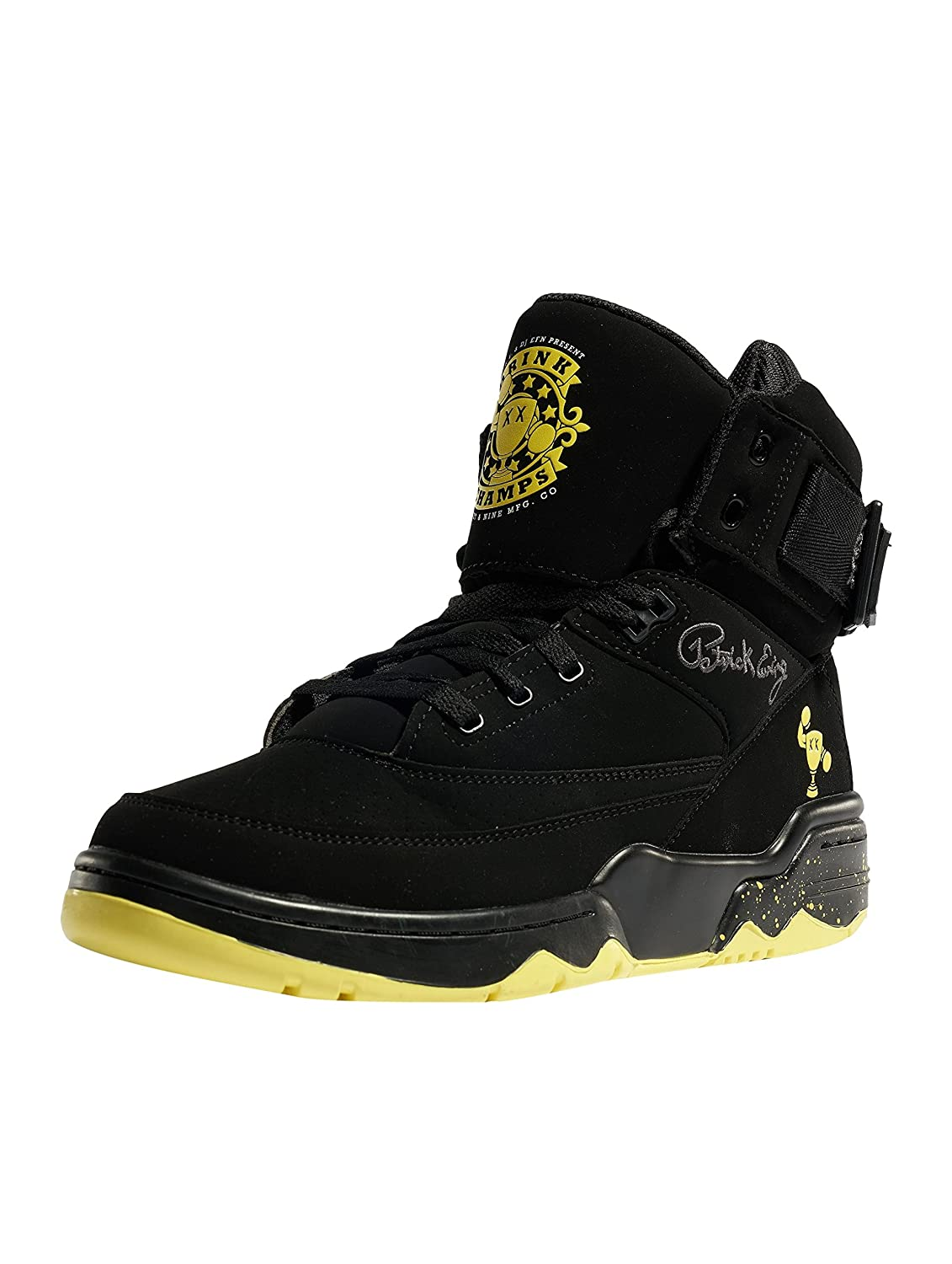 Ewing 33 HI Drink Champs Shoe B07DGWDBKX 10 D(M) US|Black