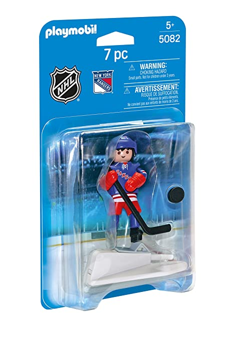 Amazoncom Playmobil Nhl New York Rangers Player Toys Games