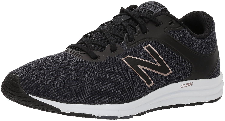 New Balance Women's 635v2 Cushioning Running Shoe B06XSDPKDB 10 B(M) US|Grey/Black