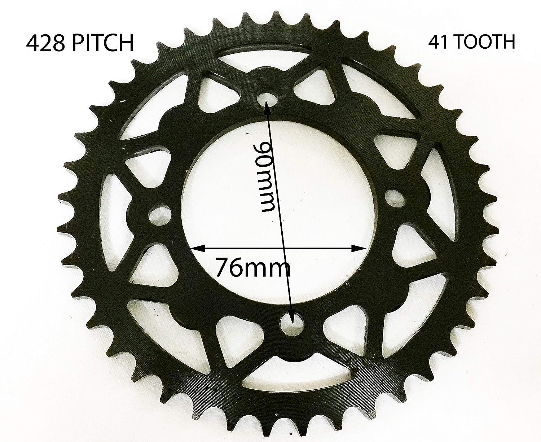 Orange Imports Ltd SPR32 428 41 Tooth Rear Sprocket 125CC Orion Dirt Pit Bike