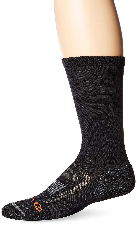Low//Quarter//Crew Socks Merrell Mens 1 Pack Cushioned Zoned Light Hiker Socks
