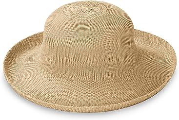 Wallaroo Hat Company Women s Petite Victoria Sun Hat – Packable 345e87b6944