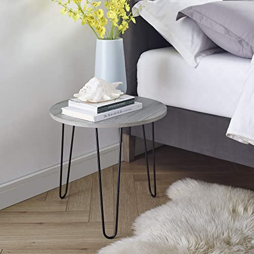 Classic Brands Mid-Century Modern Retro Hairpin Leg End Table Table