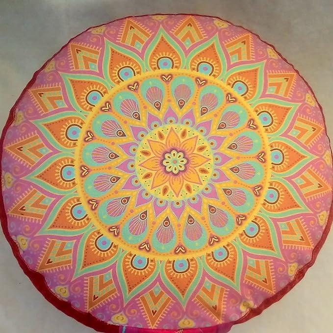 Meditationskissen Sitzkissen Yoga Kissen 30X18 CM Baumwollen Bezug Yogakissen
