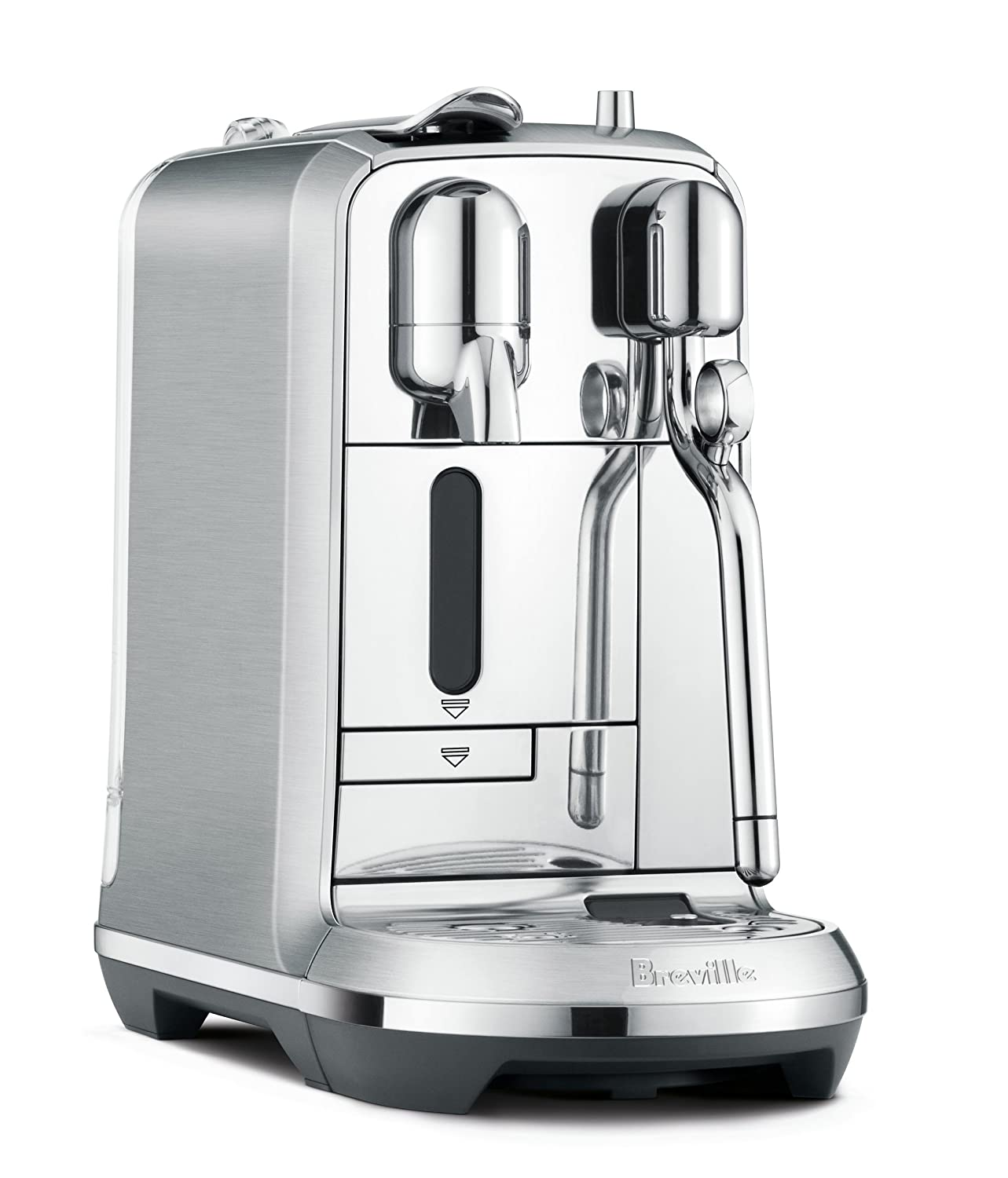 Nespresso Creatista Plus Espresso and Coffee Beverages Maker with Milk Frother by Breville, Silver BNE800BSS