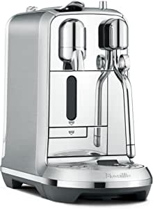 Breville Nespresso Creatista Plus Coffee Machine, Brushed Stainless Steel, BNE800BSS