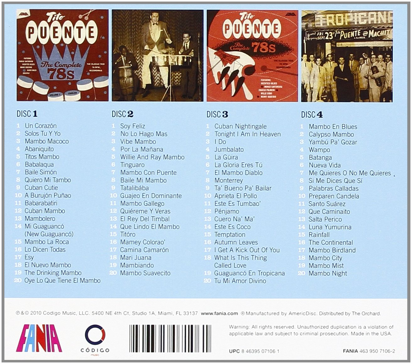 The Complete 78s Volume 1 & 2