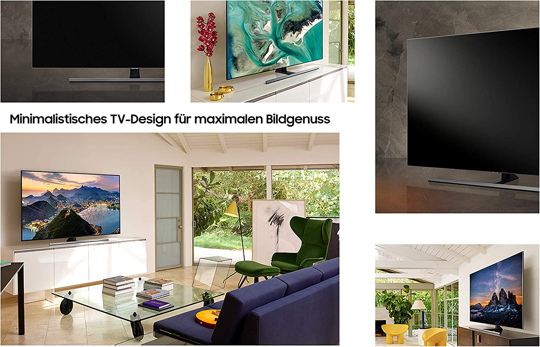 Samsung GQ65Q80RGTXZG 163 cm (65 Pulgadas) TV Plana/Flat QLED Q80R ...