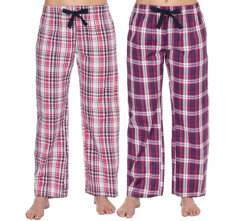 mujer pantalones de andar por casa Pijama Pantalones Pijama Pantalones (pack 2)