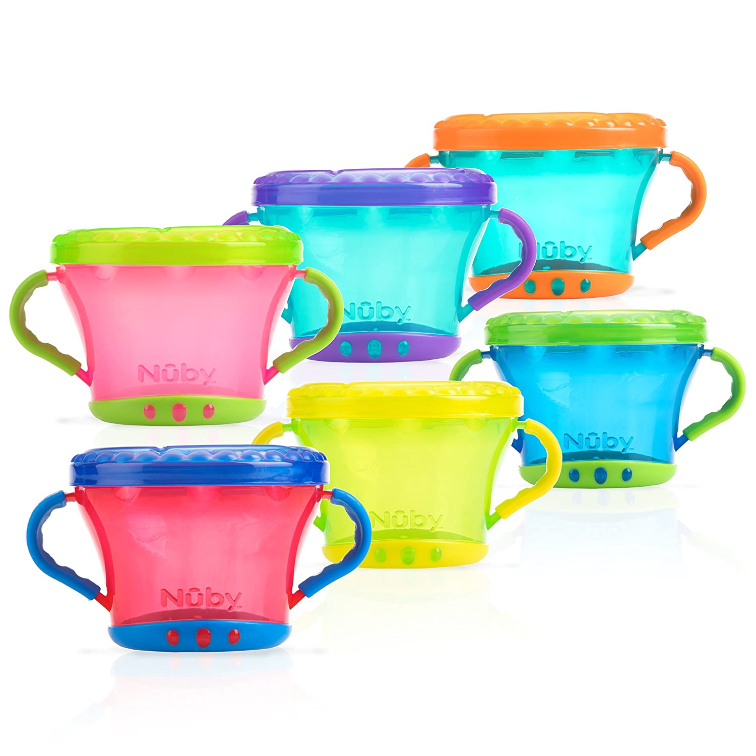 Nuby ID5409 Grip Snack Pot NÛBY