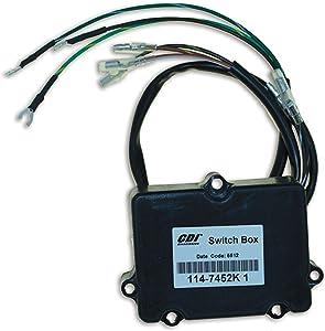 CDI Electronics 114-7452K 1 Mercury/Mariner Ignition Pack - 2 Cyl (1980-1997)
