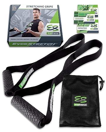 MMA Flexibilit/ät-Trainer Premium: Das Ger/ät f/ür Ballett- mit flexibler EverStretch Tanz- Trage Taekwondo und Gymnastik mit tragbarer Stretch-Maschine.
