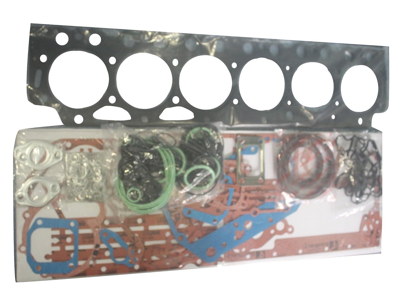 sinocmpオーバーホールフルガスケットキットfor Volvo excavator ec460フルガスケットキット3か月保証 Engine D12 ブラック CP-V18023 B075FKY6TD Engine D12