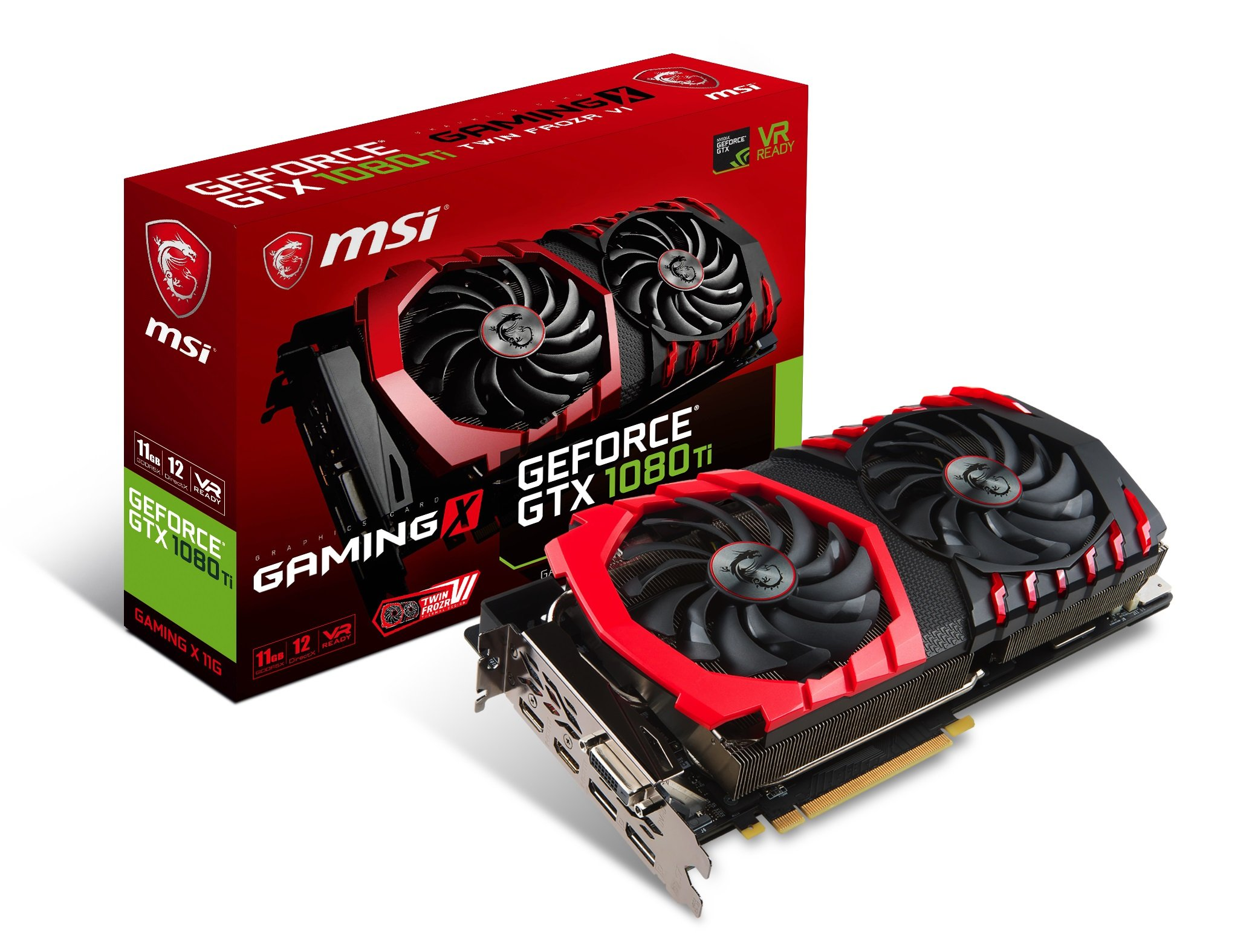 MSI GTX 1080 TI GAMING X Video Graphic Cards by MSI