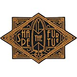 Asilda Store Shape the Future Surf Art Deco Embroidered Sew or Iron-on Patch