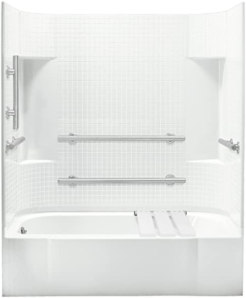 Sterling Plumbing 71140115-0 Accord Bath and Shower Kit, 60-Inch x ...