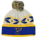 77ca0fc7123 Amazon.com   adidas Saint Louis Blues St Beanie NHL Cuffed Pom Knit ...