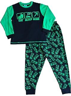 Comer dormir mina de la Boy pijama fantástico estilo de juegos de ordenador All Over Print