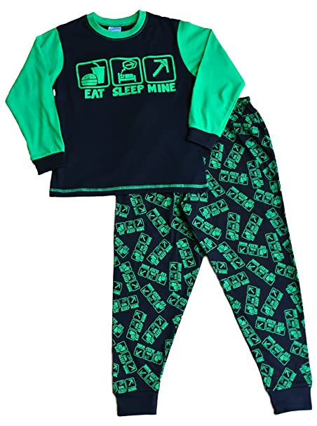 """Pijama con estampado completo de vídeojuego con texto en inglés """""""