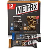 MET-Rx Big 100 Colossal Protein Bars, Healthy Meal Replacement Snack, Super Cookie Crunch and Chocolate Chip Cookie Dough Var