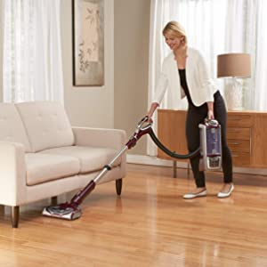 Shark Rotator Powered Lift-Away TruePet Upright Corded Bagless Vacuum for Carpet and Hard Floor with Hand Vacuum and Anti-Allergy Seal (NV752)
