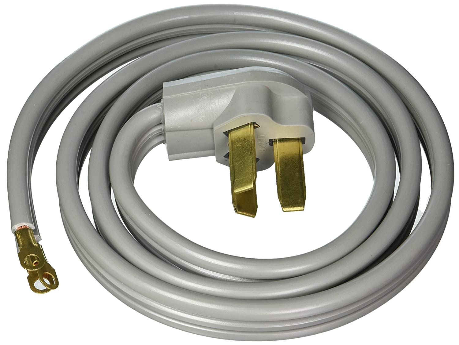 Certified Appliance Accessories 3 Wire Closed Eyelet 50 Outlet Prong Oven Electrical Cord Plug Wiring 4 To Amp Range 5ft Petra Home Improvement
