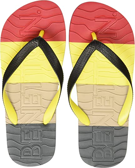 United Colors of Benetton Men's Multicolor Flip-Flops and House Slippers - 7 UK/India (41 EU) Men's Flip-Flops & Slippers at amazon