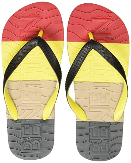 b752842db5f13 United Colors of Benetton Men s Multicolor Flip-Flops and House Slippers -  10 UK