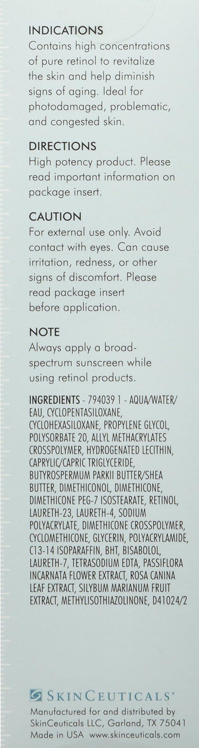 Skinceuticals Retinol 1 Maximum Strength Refining Night Cream, 1 Fluid Ounce by SkinCeuticals (Image #2)
