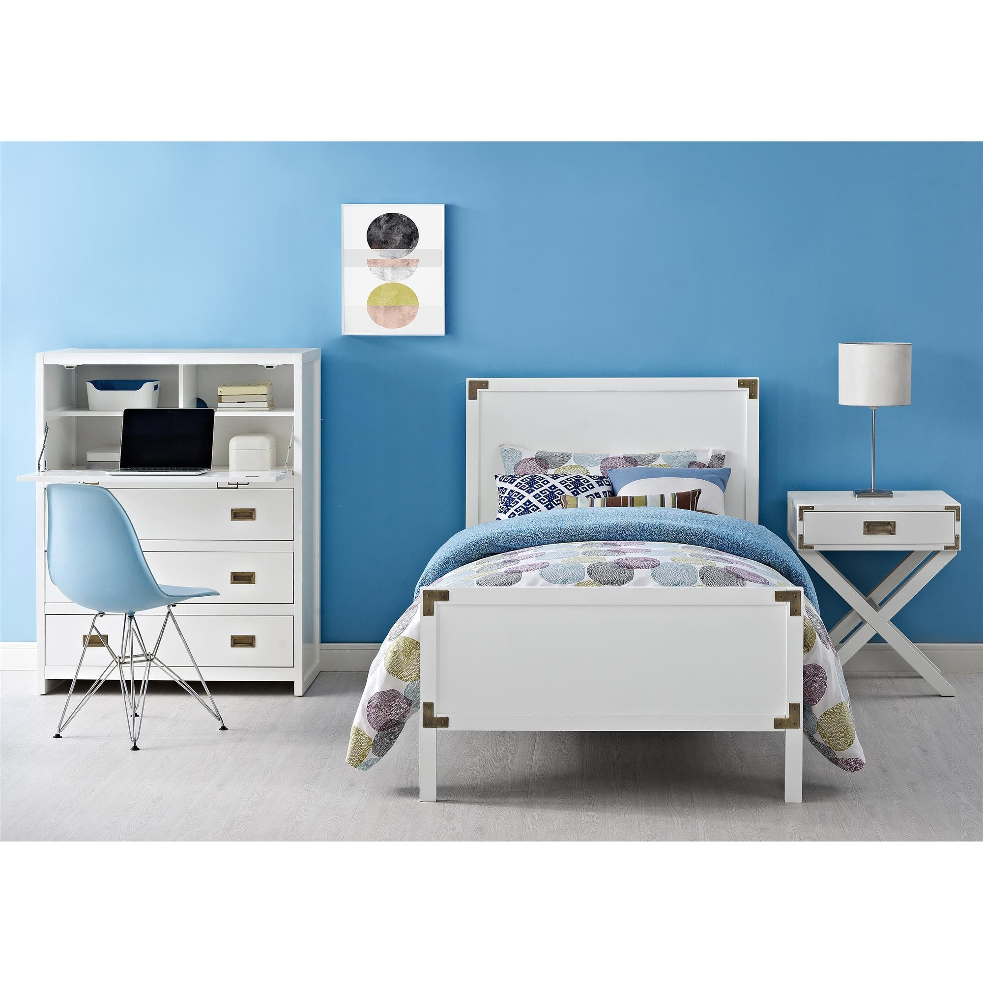 Baby Relax Miles Nightstand, White by Baby Relax (Image #7)