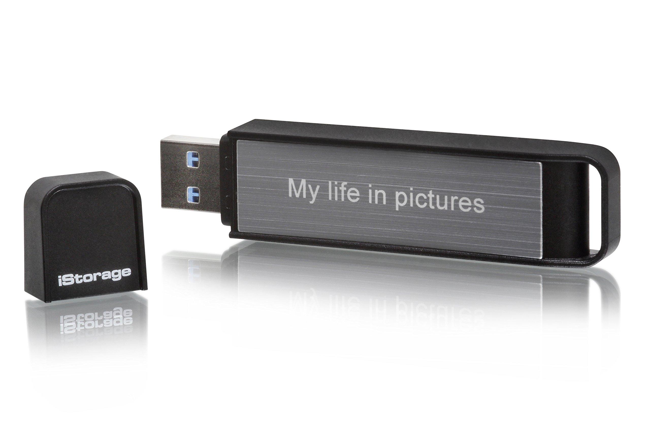 iStorage 64GB datAshur Personal 2 USB 3.0 Encrypted Flash Drive by iStorage