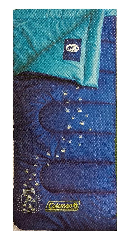 TheアウトドアキャンプColeman Youth Sleepingバッグインドア&アウトドアブルースリープUp To 5 ft B07DN1H32N