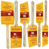 "6pk PRO PERFECT PAINT BRUSH 1.5"",2"",2.5"",3"" ANGLE SASH Professional Quality at the PERFECT Price! ""Purdy"" Quality for LESS!!"