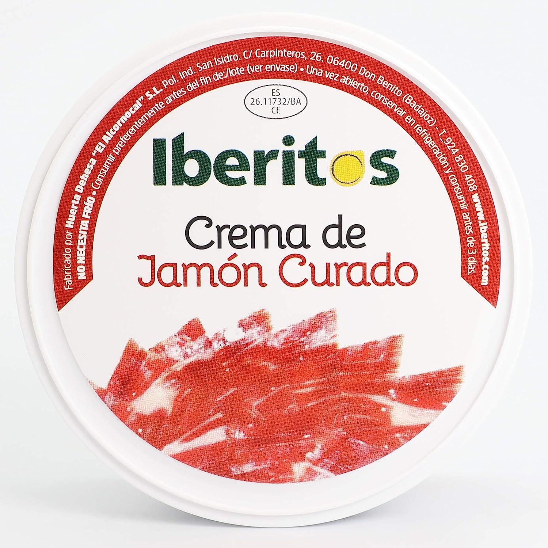 Iberitos - Lata de Crema de Jamon Curado - 250 Gramos